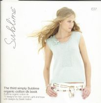 637 - The third simply Sublime organic cotton dk book